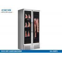 Wholesale Dual Door Meat Dry Aging Refrigerator , Commercial Dry Aging Coolers from china suppliers