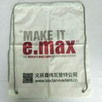 Wholesale Rope Shoulder Custom Plastic Drawstring Bags Double Layer Material Synthetic from china suppliers