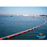 China Fire Resistant Oil Absorbent Boom , Oil Boom Spill For Water Environmental Protection on sale
