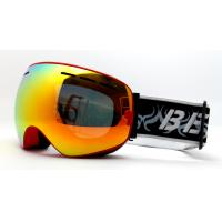 Quality Comfortable Mirror Lens Snowboard Goggles and Eyewear for Skating for sale