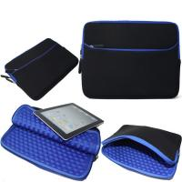 Wholesale Blue Shockproof Laptop Sleeve , Neoprene Macbook Pro 13 Inch Sleeve from china suppliers
