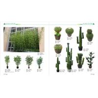 Wholesale artificial bonsai plant artificial art flower artificial green trees plants plastic bamboo plants from china suppliers