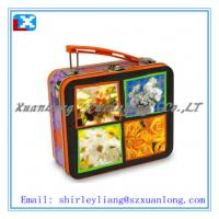 Wholesale rectangle shape lunch tin box from china suppliers