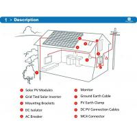 China IP65 Ingress Protection Residential Solar Power Systems RS232 Communication Port on sale