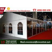 China Double PVC Cover Large Outdoor Tent 850g / Sqm For Car Exhibition Event on sale