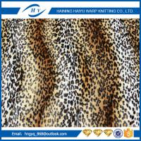 Wholesale Flame Retardant Printed Fleece Fabric 75D/144F Fashion Design from china suppliers