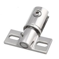Wholesale adjustable rotating stainless steel glass door hinge free pivoting action from china suppliers