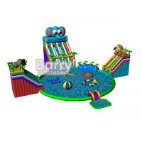 Wholesale Summer kids play park games , elephant inflatable water park with CE,EN14960 from china suppliers