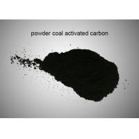 Wastewater Decolorization Activated Charcoal Powder / Coal Based Activated Carbon for sale