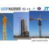 Buy cheap 60m boom length 10t QTZ100(6018) big Tower Crane from wholesalers