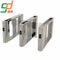 Wholesale High Intelligent Automatic Swing Barrier Gate Bi-Directional Pedestrian Turnstile from china suppliers