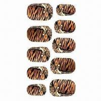 Wholesale Nail Art Stickers, Available in Various Designs from china suppliers