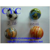 Wholesale Printed Children Playing Glass Marble Balls from china suppliers