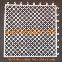 Wholesale PB-08 Plastic Base for DIY WPC deck tiles from china suppliers