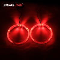 Wholesale IPHCAR Led Angel Eye 80mm 95mm Cree Chip Led Halo Rings Retrofit Headlight Led Angel Eye from china suppliers