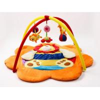 Wholesale Orange Lion Baby Play Gyms / Baby Musical Play Gym Professional from china suppliers
