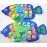 Wholesale OEM 2.8g Fish Shape Compressed Fruity Hard Candy / Colored Powdered Sugar from china suppliers