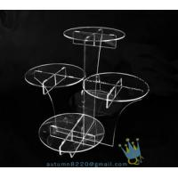 Wholesale CD (22) wedding cake stand crystal from china suppliers