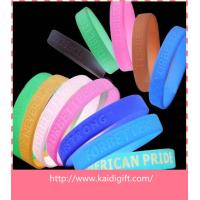 Promotional Fashion Carved Thin Rubber Bracelet Silicone Wristband Party Favors for sale