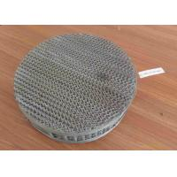 China BX Stainless Steel Metal Structured Packing Fine Chemical Tower Internal on sale