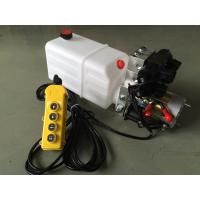 Quality Double Acting Hydraulic Cylinder Hyd Power Unit With 2 Station CETOP 03 Solenoid Valves for sale