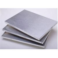 Buy cheap 6063 T6 Aluminum Alloy Plate Thickness 6mm 1250mm*2500mm Stock Size from wholesalers