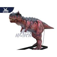Durable Silicon Rubber Alive Handmade Dinosaur Statue For Water Park NOA for sale
