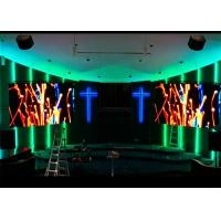 Wholesale Digital Signage Church LED Screen Indoor Full Color For Sound Video Loop System from china suppliers