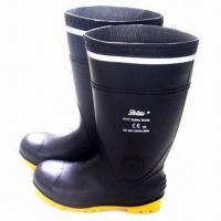 Wholesale Mining and Industrial Safety Boots with Steel Toe and Midsole from china suppliers