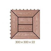 Wholesale WX17 Garden WPC Deck Tiles for landscaping tiles patio pavers from china suppliers