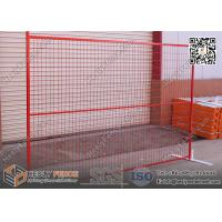 Red color portable construction fening panels CHINA