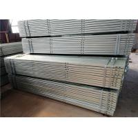 Wholesale On Off Grid Galvanized Steel Profile Customized Color Wind Seismic Resistance from china suppliers