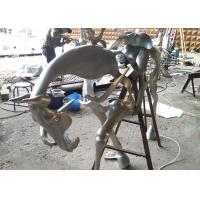 Quality Spectacular Incomplete Horseman Outdoor Metal Sculpture Forging Technique for sale