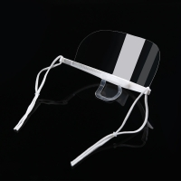 Wholesale Lightweight Droplets Prevention Transparent Plastic Face Mask from china suppliers