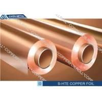 China Single Shiny S - HTE Electrolytic PCB Copper Foil  For printed circuit board on sale