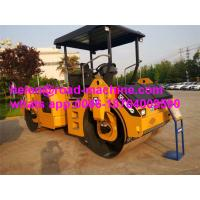Wholesale Diesel Engine Heavy Construction Machinery 8 Ton 40KN Slot Grind Double Drum Vibratory Road Roller XD82 from china suppliers