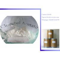 Wholesale Raw Steroid Powders 4-Chlorotestosterone Acetate Clostebol Acetate Turinabol CAS:855-19-6 from china suppliers
