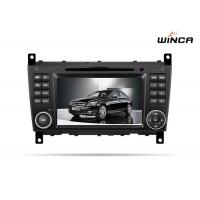 Buy cheap Car DVD player with GPS for Mercedes-benz C class 2007-2011 with new design from wholesalers