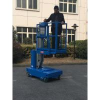 Quality Single Mast Self Propelled Elevating Work Platforms For Indoor Maintenance Service for sale