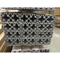 Buy cheap 2020 4040 8080 4060 T Slot Aluminium Industrial Profile with Silver and Black Anodized from wholesalers