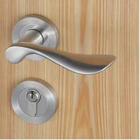 Wholesale Casting Solid Stainless Steel Handle Mortise Door Lock 54mm Escutcheon Diameter from china suppliers