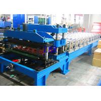 Quality Automatic 1100 Metal Roof Tile Roll Forming Machine 12Mpa 20 Stations Roller for sale