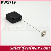 Wholesale Retractable Spring Anti Theft Pull Box With 22mm Metal Round Viscous Plate End from china suppliers