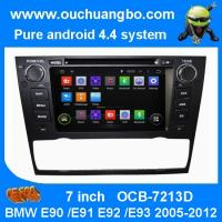 Wholesale Ouchuangbo Car GPS Navi 3G Wifi for BMW E90 /E91 /E92 /E93 2005-2012 Android 4.4 DVD Radio from china suppliers