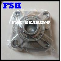 China Flanged Type SSUCF205 Pillow Block Bearings Food Grade 304 / 316 / 440 Material on sale