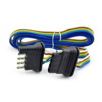 Quality 5 Way Trailer Wire Kit 12 volt for basic lighting for sale