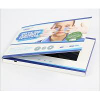 """Wholesale 7"""" Lcd Video Brochure With Stand , Hard Cover Lcd Video Booklet Rechargeable Battery from china suppliers"""
