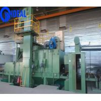 Buy cheap Abrator type shot blasting machine pretreatment line for 2 m width steel plate from wholesalers