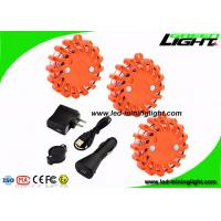 China Magnetic Mount Led Warning Light Rechargeable Shockproof LED Road Flares for Car on sale
