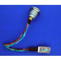 Wholesale Male To Male Custom Power Cables , 1K 8 Pin Sleeved Power Supply Cables from china suppliers